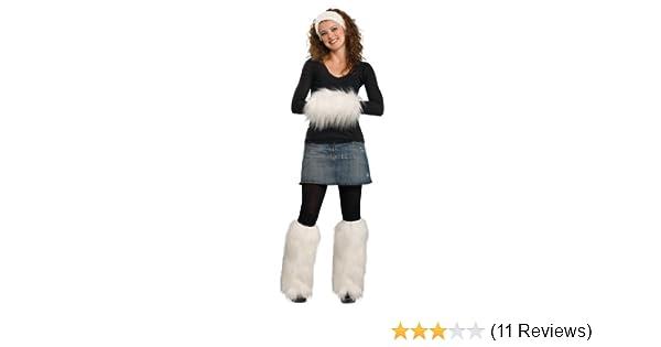 Rubies Costume Faux Fur Muff with Leg Warmers and Headband Set
