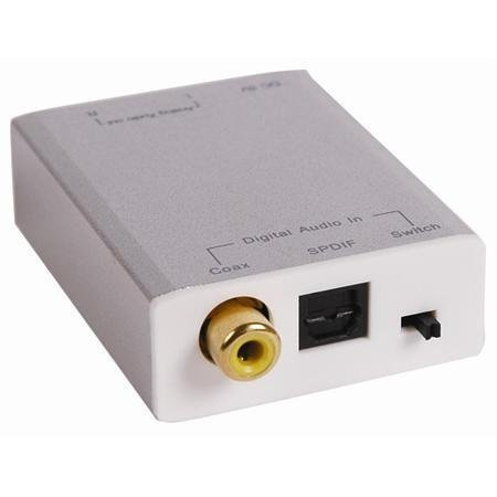Stellar Labs DIGITAL TO ANALOG CONVERTER SPDIF OR TOSLINK...