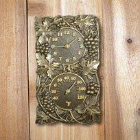 (Whitehall Products Grapevine Combo Clock, Copper Verdi)