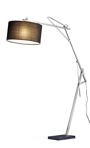 "Adesso 5272-22 Suffolk 72""-90"" Arc Lamp, Smart Outlet Compat"
