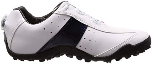 ゴルフシューズ EXL SPIKELESS Boa メンズ ホワイト/ネイビー(18) 24.5 cm 3E 45181J E