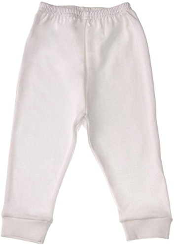 baby-jay-unisex-baby-tight-fitting-cotton-leggings-white-3-6-months