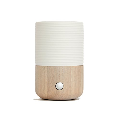 Sofia Waterless Nebulizing Essential Oil Diffuser For Best Aromatherapy - OAK Wood