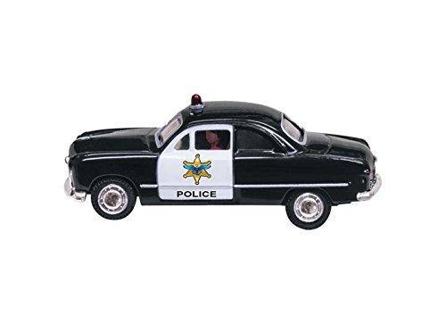 (Woodland Scenics WOOJP5593 HO Just Plug Police Car)