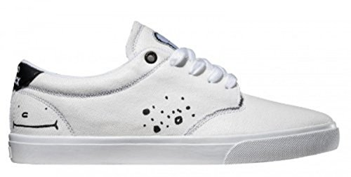 Globe Skate Shoes Lighthouse White Clepto