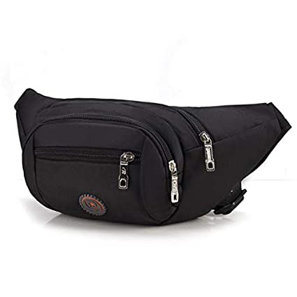 76f1653796 Junson Men s Messenger Bags Leisure Oxford Waist Bag Business Package  Leisure Outdoor Multi-Function Large
