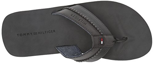 Tommy Hilfiger Mens Sandale Plate Dilly Gris