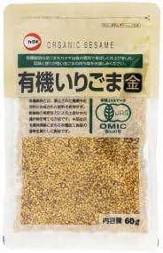 カタギ食品 有機いりごま金 60g まとめ買い(×10)