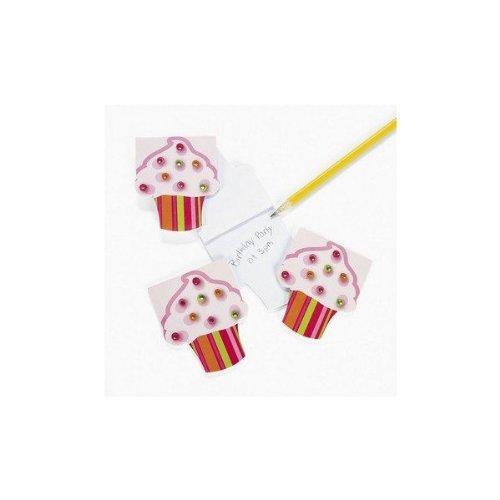 Dozen Paper Cupcake Notepads Gems