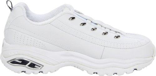 Skechers Sneaker navy Women's Us Marino 10 white on Sport Bianco premix Slip Premium M Blu gFwgqY