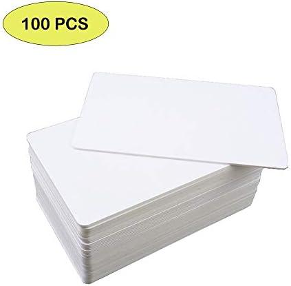 Meipire 13,56 MHz MIFARE Classic 1K, RFID - Chipkarten / M1 - Karten, bedruckbare leere RFID - PVC - Karten nach ISO14443A für die Zugangskontrolle, Hotelschlüsselkarten usw (100)