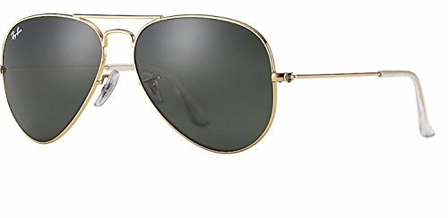 Ray Ban RB3025 W3234 55M Gold/ Gray Green - Rb3025 Gold Green