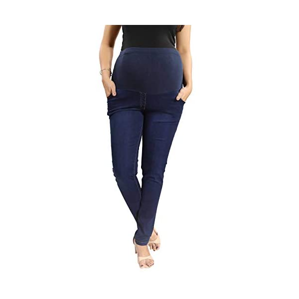 Mamma's Maternity Slim Fit Maternity Wear Jeggings Online India