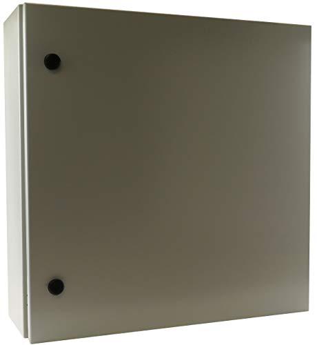 Type Backplate - Yuco YC-32X24X10-UL IP66 Enclosure with Gland Plate (Screw Plate), Certified by UL, Nema Type 4, 16 Gauge, Single Door Hinge Cover, Wall-Mount, Backplate (32 x 24 x 10)