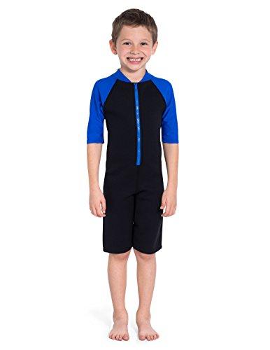 Tuga Boys Thermal Wetsuit (UPF 50+), Royal, S (7/8 yrs) by Tuga Sunwear (Image #2)