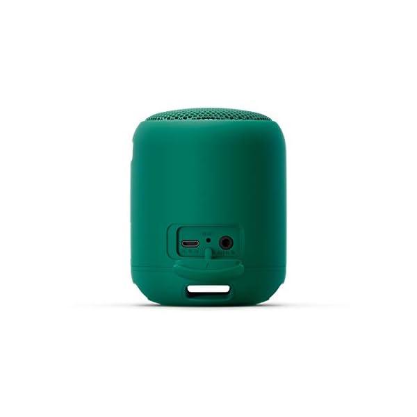 Sony SRS-XB12 Enceinte Portable Bluetooth Extra Bass Waterproof - Vert 5
