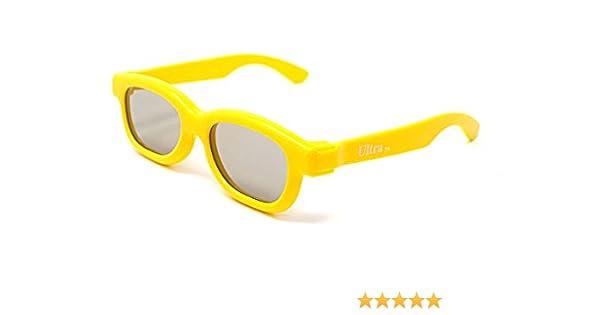 Ultra 1 Par de Amarillo Gafas 3D Pasivo para Niños para Uso con ...