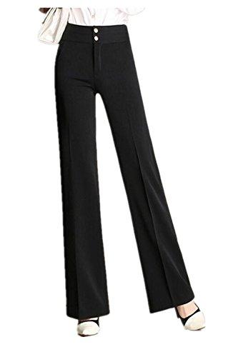 high waisted pleated dress pants - 4