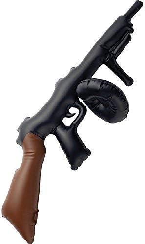 20S GANGSTER TOMMY MACHINE GUN TOY mens ladies boys fancy dress accessory