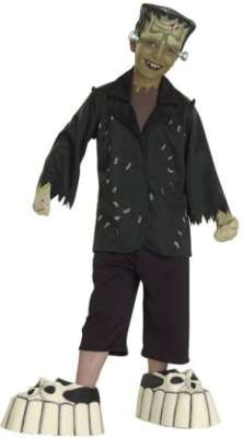 [Kids Frankenstein Costume - MEDIUM] (Boys Frankenstein Costumes)