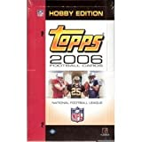 2006 Topps Football Cards Unopened Hobby Pack (12 Cards/Pack - Possible Rookies of Reggie Bush, Matt Leinart, Vince Young, Jay Cutler & more! - Great Idea for Christmas!