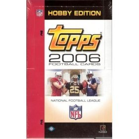 2006 Topps Football Cards Unopened Hobby Pack (12 Cards/Pack - Possible Rookies of Reggie Bush, Matt Leinart, Vince Young, Jay Cutler & more! - Great Idea for Christmas! (Topps Football Cards Hobby)