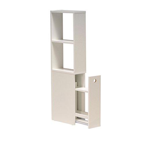 WEBER INDUSTRIES Meuble de Toilettes avec Deux niches et Un tiroir ...