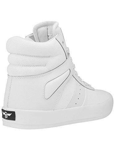 Creative Recreation Men's Moretti Fashion Sneaker, White, 8 M US
