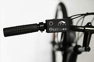 Nilox 30NXEB266VFM1V2 - Bicicleta eléctrica E Bike 36V 7.8AH 26X1.75P - J5, Motor 36 V 250 W, batería Recargable Samsung de Litio 36 V 8 Ah, Carga Completa 4 h, chasis Acero,