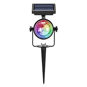 Vvciic proyector LED de la luz, la energía solar de la ...