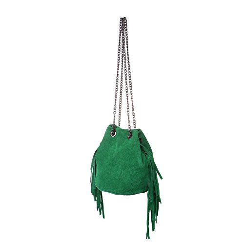 La chaîne seau en en avec Vert hanses petites daim Sac Modeuse U6qgzwUr