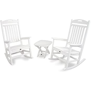 Trex Outdoor Furniture TXS121-1-CW Yacht Club 3-Piece Rocker Chair Set  sc 1 st  Amazon.com & Amazon.com : Trex Outdoor Furniture TXS121-1-CW Yacht Club 3-Piece ...