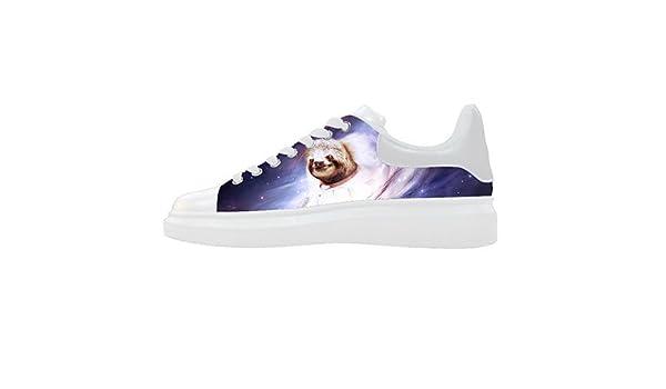 d57d8f6339f16 Amazon.com | Custom Women's Shoes Sloth Animal New Sneaker Canvas ...