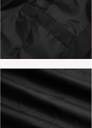 Cappuccio Giacche Di Sportivo Giacca Zhiyuanan Casual Vento Coulisse Zip Primavera Prova Leggero Con Uomo Taglia Hoodie Nero Grossa A Cappotto Autunno Traspirante Tasca 81g8Sq