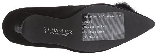 Charles Av Charles David Kvinna Sadie Pump, Svart, 6,5 Medel Oss