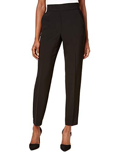 - DKNY Womens Straight Leg Pull-On Dress Pants Black 8