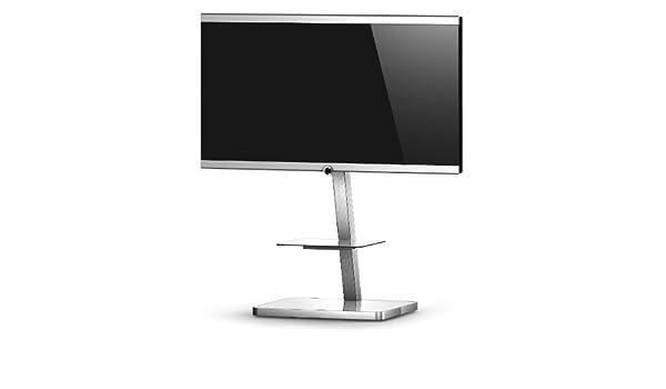 RO&CO - Peana de TV con Estante. Alto: 92 cms. Vidrio Blanco ...