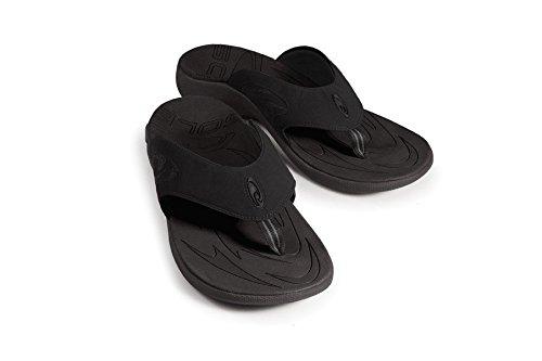 SOLE Men's Sport Flips, Raven, 10 D US