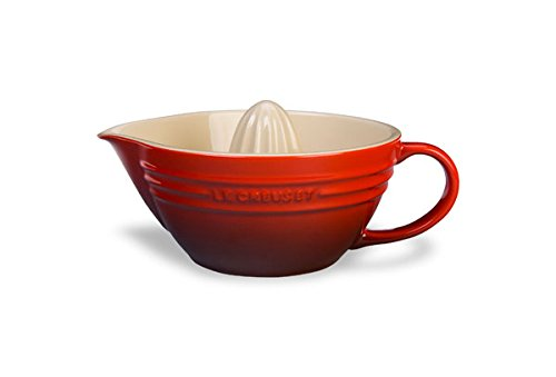 Le Creuset PG4300-1467 Stoneware 16-Ounce Citrus Juicer, One Size, Cherry