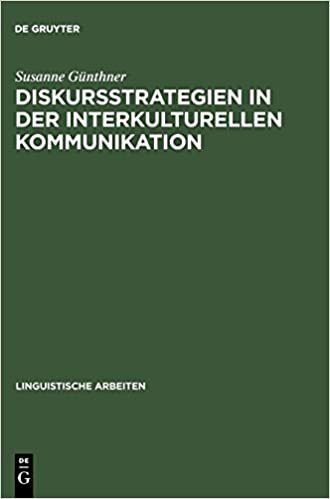 Diskursstrategien In Der Interkulturellen Kommunikation Analysen