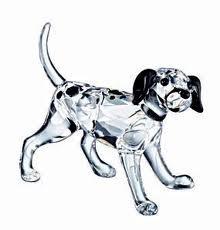 - Swarovski Crystal #628947 Dalmatian Puppy Standing