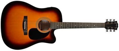Carlo Robelli crf600ces Dreadnought Cutaway Guitarra Acústica ...