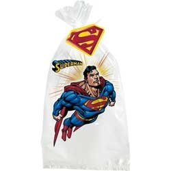 (Superman Returns Party Cello Bags 8ct)