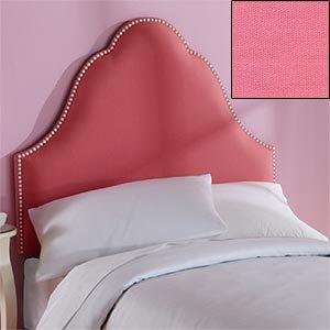 Amazon.com - Bella Twin Headboard Upholstered Pink Headboard with ... : pink quilted headboard - Adamdwight.com