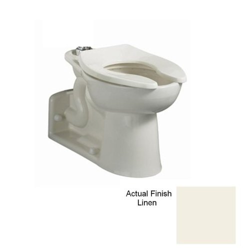 American Standard 3695.016.222 Linen Priolo Priolo Elongated Toilet Bowl Only with Right Height Bowl 3695.016