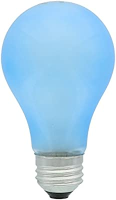 Phillips 429480 A19 60-Watt Medium Base Incandescent E26 120 Volt Agro-Lite Indoor Light Bulb for Plants