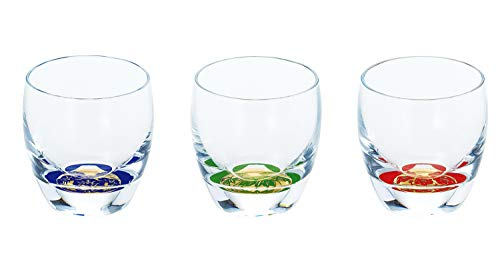 - Glass Bottle Company µŸCup Fujimi Shochikubai Cup 3 Tanesoroe G086-T238 oriental Sasaki glass
