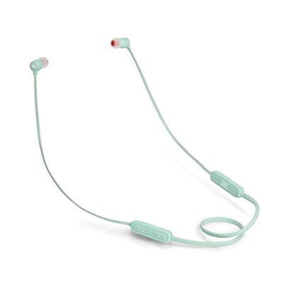 JBL T110BT Wireless in-Ear Headphones with Three-Button Remote and Microphone (Green) - 4005022 , B078L75CP9 , 454_B078L75CP9 , 41.95 , JBL-T110BT-Wireless-in-Ear-Headphones-with-Three-Button-Remote-and-Microphone-Green-454_B078L75CP9 , usexpress.vn , JBL T110BT Wireless in-Ear Headphones with Three-Button Remote and Microphone (Green)