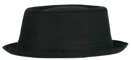 Stetson Athens Cotton schwarz Größe 60