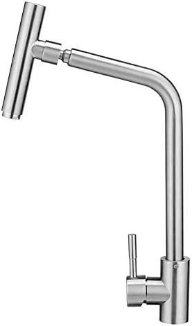 流域の蛇口、ステンレス鋼の回転温水と冷水の調整蛇口は鉛フリー絞りは40ミリメートルに32ミリメートルをインストールすることができますです